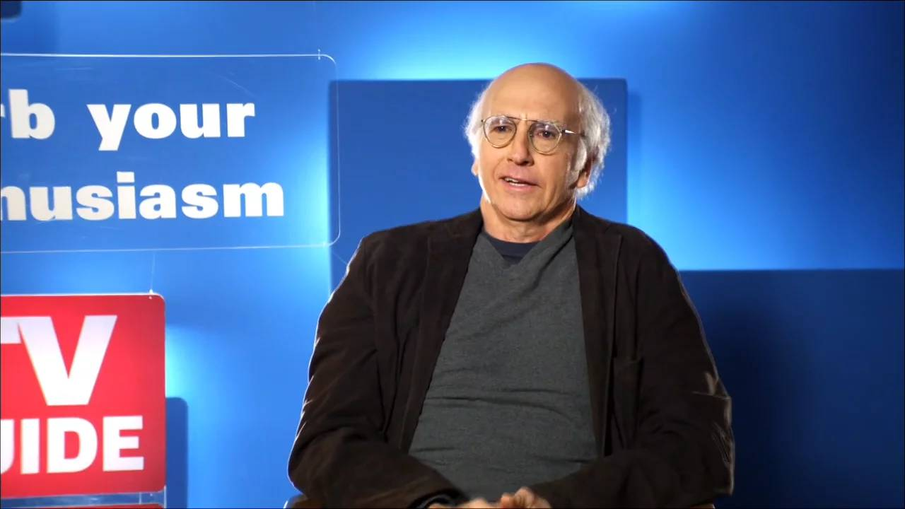 "TV Guide ""Curb Your Enthusiasm"" promo"