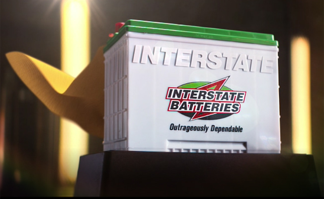 "Interstate Battery ""Super Guy"""
