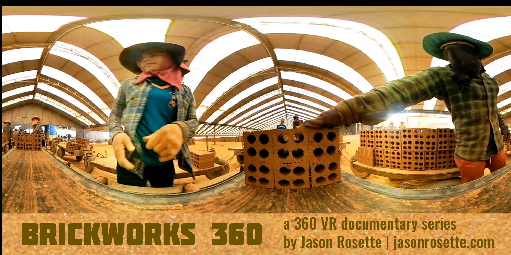 'BrickWorks 360' - VR 360 Video Journalism in Asia