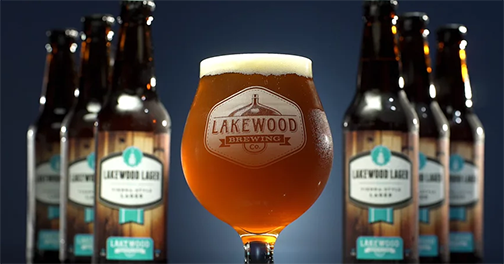 "Lakewood Lager ""Real Beer"""