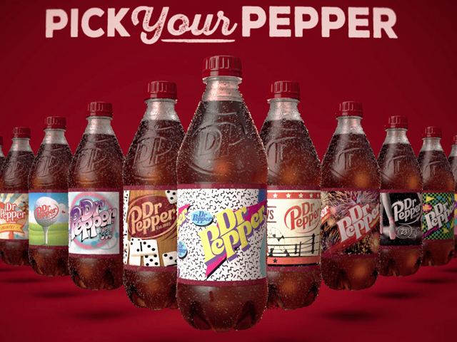 "Dr Pepper — ""Rotating Bottle"""
