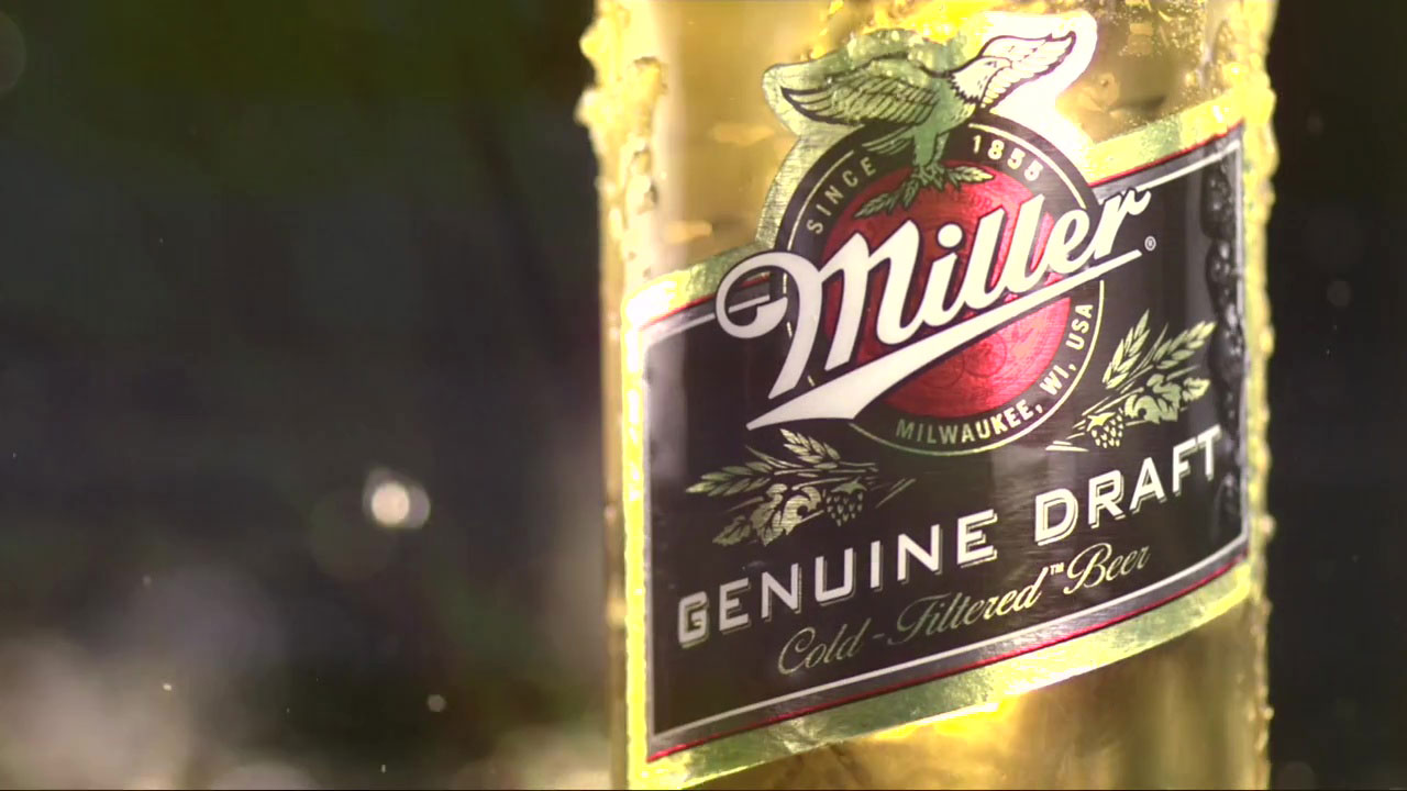 "Miller Genuine Draft ""Headliner"""