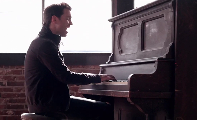 "Andy Grammer ""Fine By Me"""
