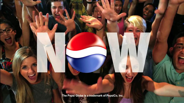 "PEPSI ""Live For Now"""